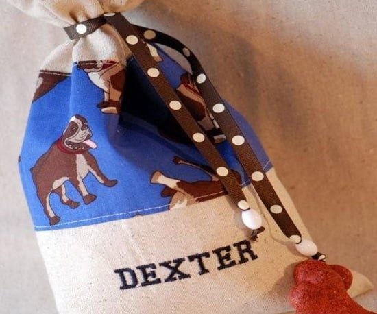 Personalized Dog Treat Bag