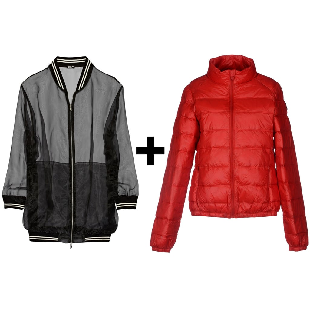 Sheer Athletic Bomber and Puffer Coat