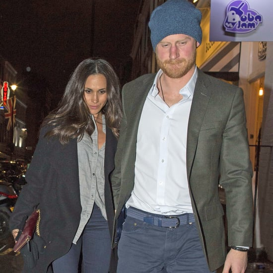 Prince Harry Meghan Markle Holding Hands in London Feb. 2017