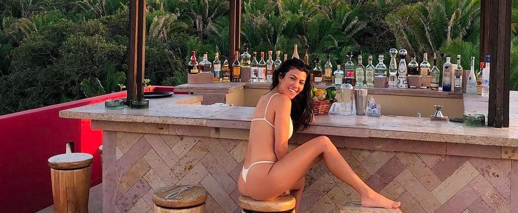 Kourtney Kardashian's Sexy Bikini Is Just Strings Tied Together