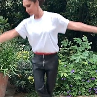 Victoria Beckham Doing Ballet Instagram Video