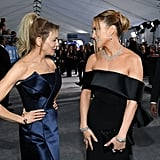 Renée Zellweger and Jennifer Lopez at the 2020 SAG Awards