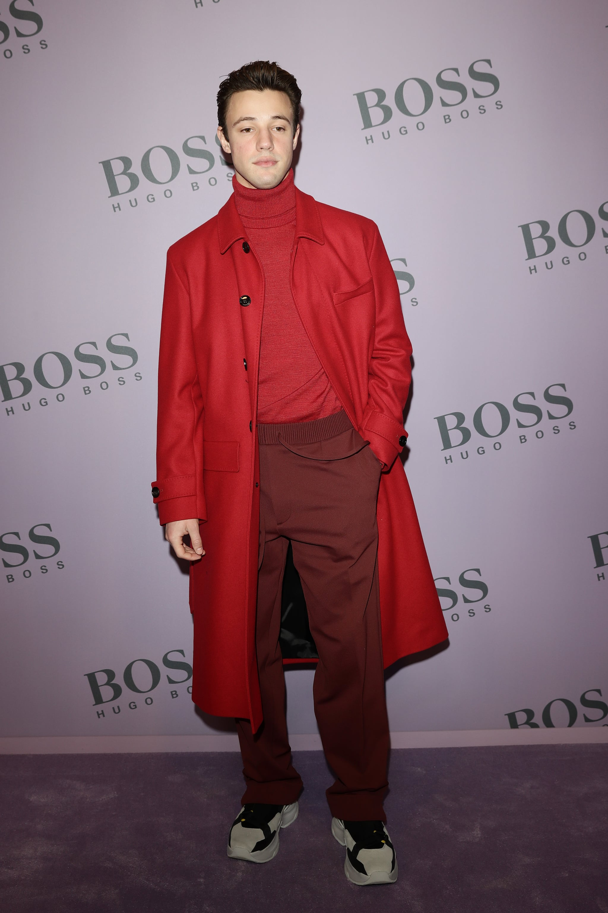 Cameron Dallas At The Boss Fall 2020 Show The Best Celebrity Style At Fashion Week Autumn 2020 Popsugar Fashion Uk Photo 146