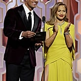 Pictured: Dwayne Johnson and Jennifer Lopez