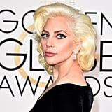 Lady Gaga at the Golden Globes 2017