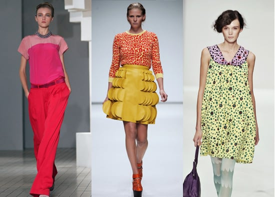 Spring 2009 London Fashion Week, Christopher Kane, Eley Kishimoto, Trend Alert, Neon Pastels