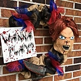 Chucky Wanna Play Halloween Wreath