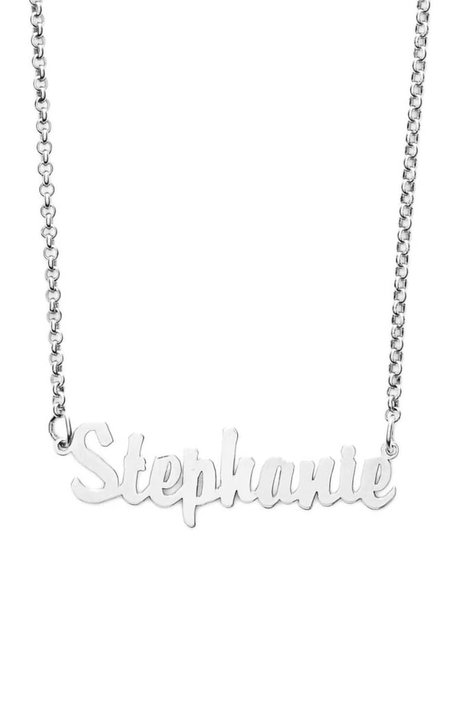 Argento Vivo Personalized Script Name Necklace