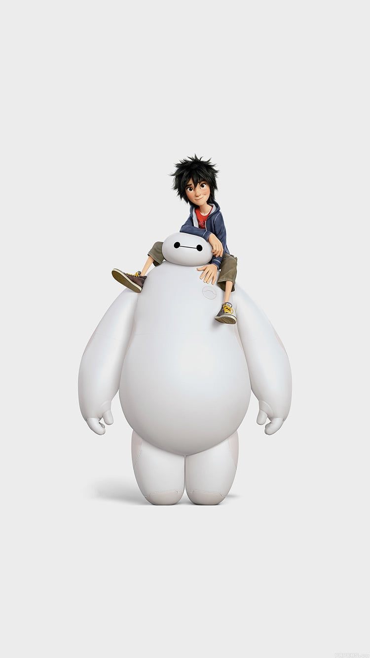 Hiro And Baymax From Big Hero 6 Wallpaper 33 Magical Disney Wallpapers For Your Phone Popsugar Tech Photo 15