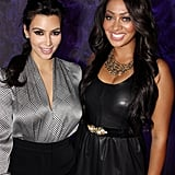 Kim Kardashian and La La Vazquez's friendship goes back many years, and the duo still likes to sit front row at fashion shows, watch basketball games, and hit the red carpet together.