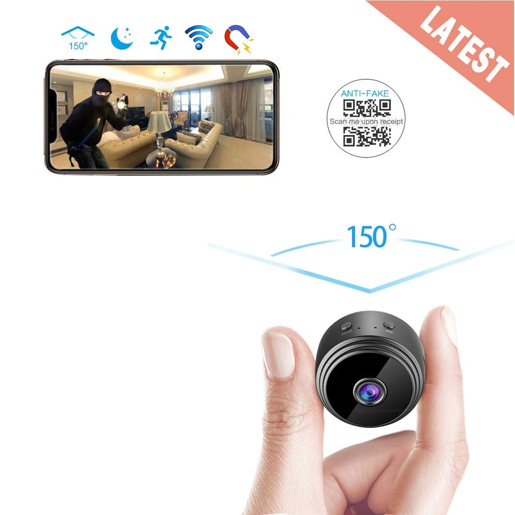 Arebi Spy Camera Wireless Hidden WiFi Mini Camera