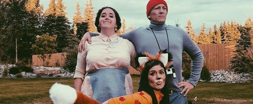 Wes Anderson Film Inspired DIY Halloween Costumes