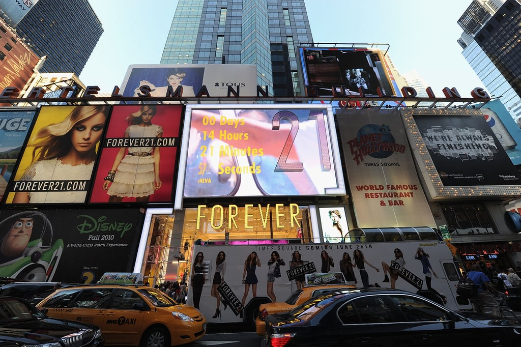 And the Flagship Store Is Located in Times Square