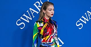Gigi Hadid's Rainbow Catsuit Makes Her Look Like a Sexy Superhero