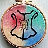 Hogwarts Embroidery Hoop ($20)