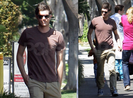 Adam Brody Brings Out His A-Game Hotness