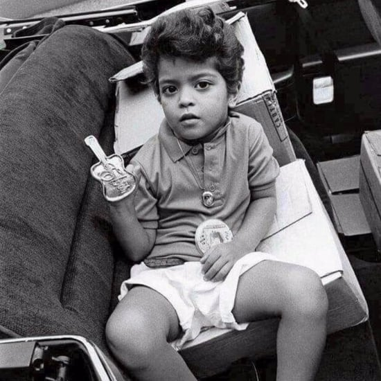 Bruno Mars Throwback Photo June 2017