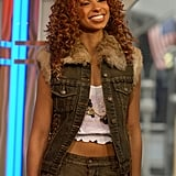 Mya was a TRL guest in 2003.