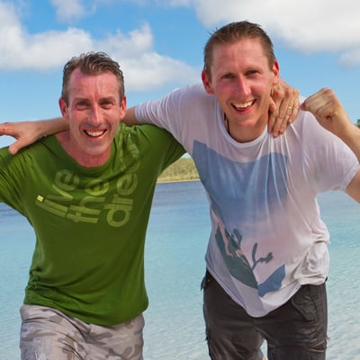 Melbourne Cops Shane and Andrew Win The Amazing Race Australia 2012