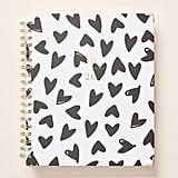 Sugar Paper 2020 Spiral Hearts Planner