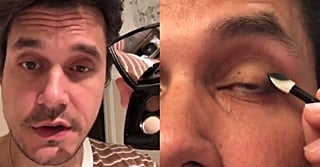 John Mayer Filmed His Own Makeup Tutorial, and It's . . . Kinda Good, Actually