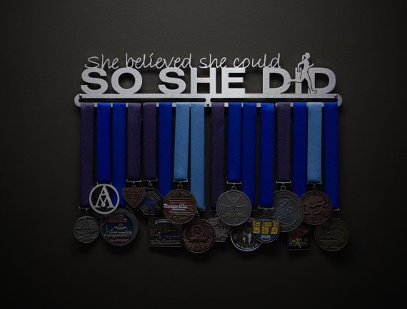 She Believed She Could Medal Hanger