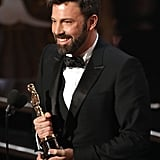 When He Won His Second Oscar