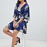 Pretty Little Thing Kimono Sleeve Wrap Dress