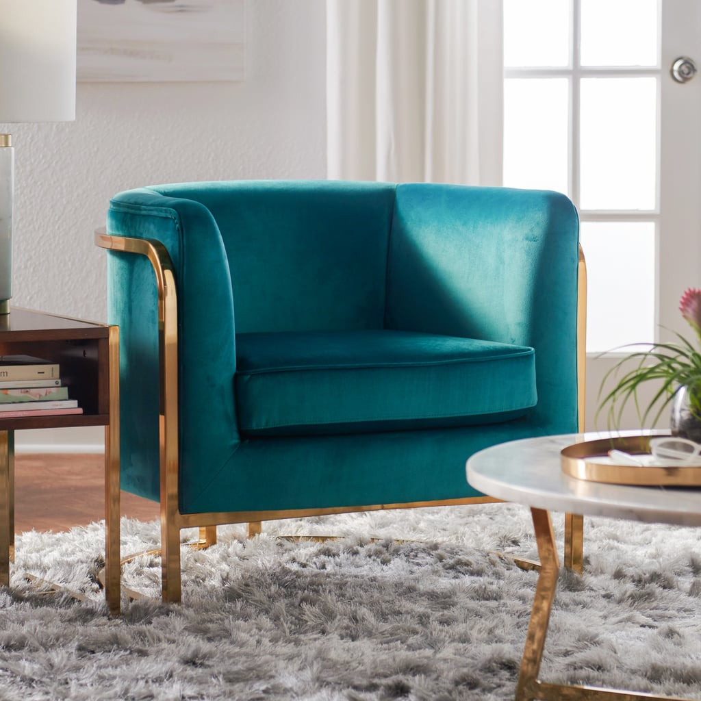 MoDRN Marni Barrel Accent Chair | Best Living Room Furniture ...