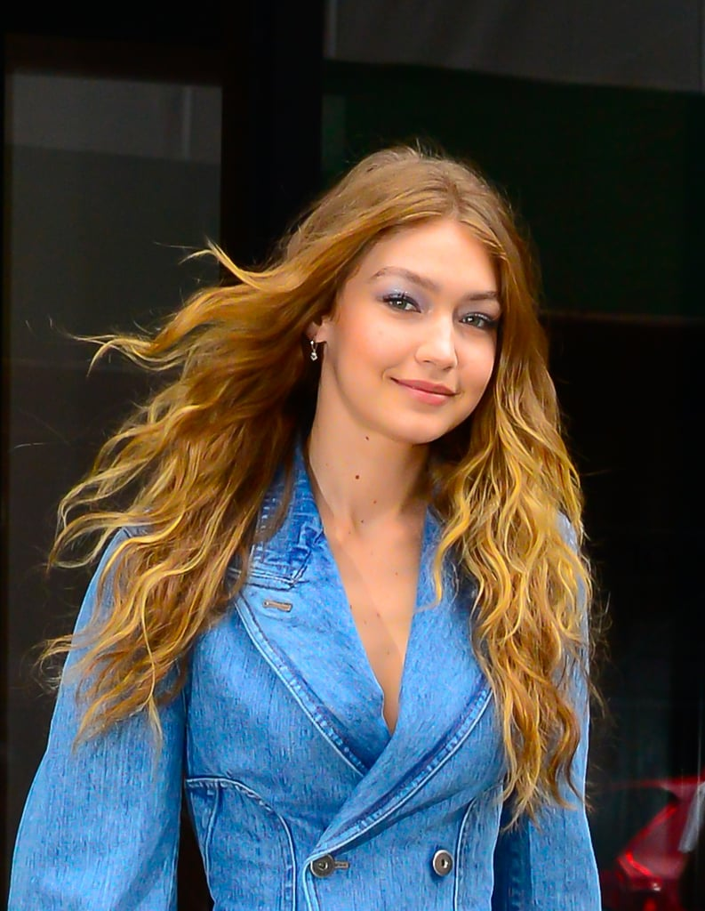 See More Pics of Gigi Rocking the Look in NYC