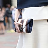 This clutch was made for this outfit.