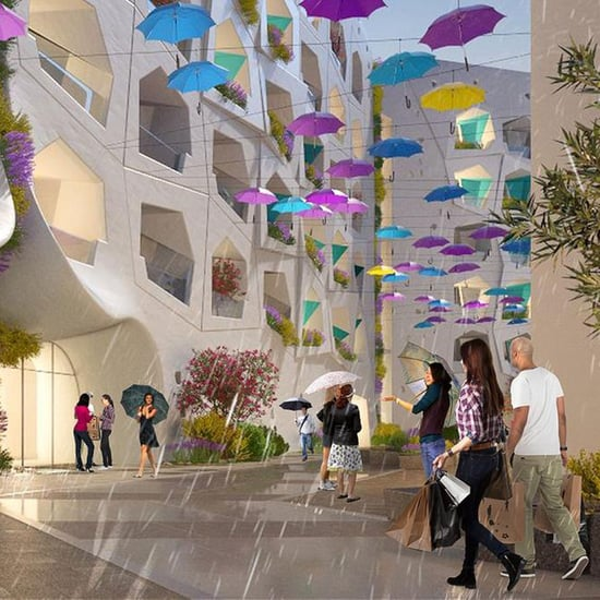 Everything You Need to Know About Dubai's Raining Street