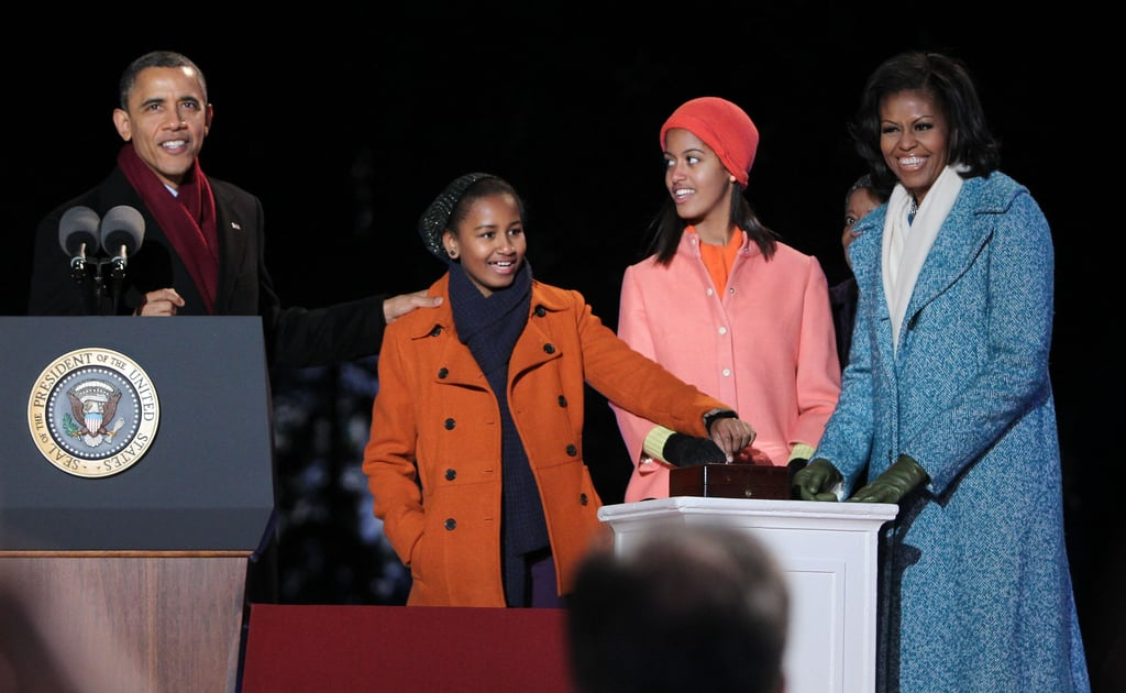 Lighting the National Christmas Tree, December 2012