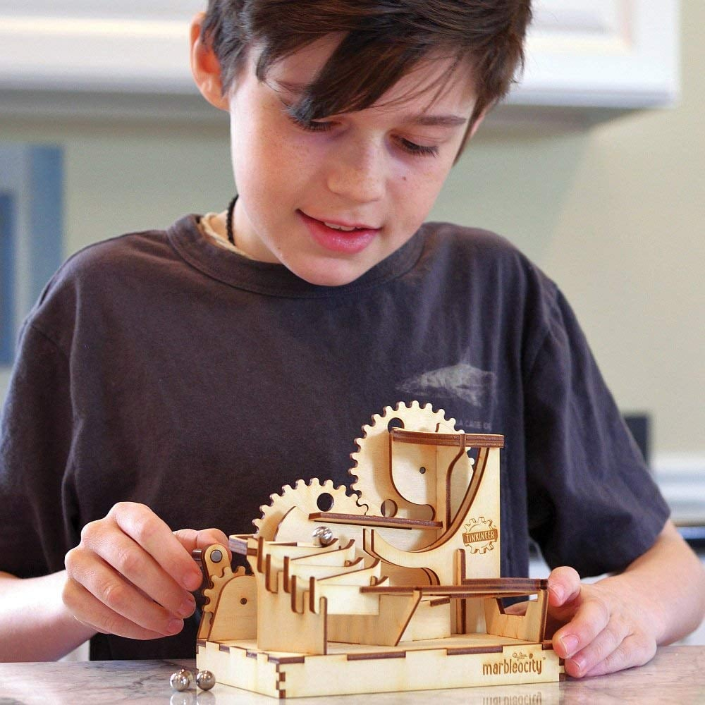 For 7-Year-Olds: Build Your Own Marble Coster