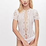 Elsa Lace Bodysuit ($162)
