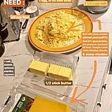 وصفة جيجي حديد للمعكرونة بالجبنة