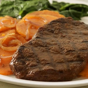 Today's Special: Moroccan-Rubbed Grilled Steak & Sweet Potatoes