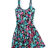 Add a pair of heeled sandals to take this look to the office.  Aeropostale Floral Knit Dress ($20, originally $40)