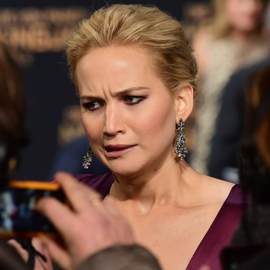 Jennifer Lawrence's Funniest Faces in 2015
