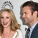 Candice Accola and Matt Davis met up for a photo.