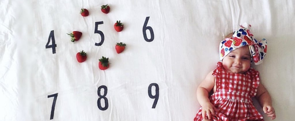 Ways to Document Monthly Baby Photos