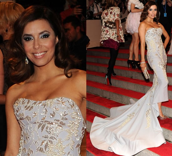 Eva Longoria Parker at 2010 Costume Institute Gala