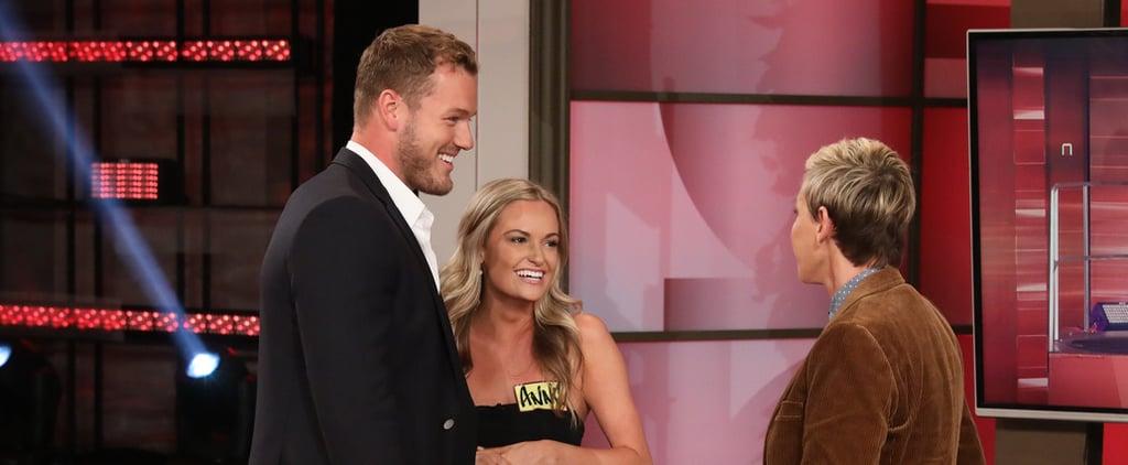 Colton Underwood Meets Bachelor Contestants on Ellen Video