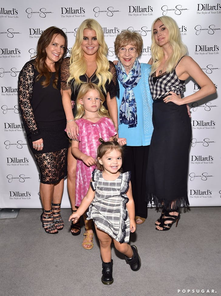 Red Carpet Jessica Simpson Family