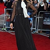 At the UK Premiere of Cowboys & Aliens