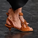 Khaite Shoes on the Runway at New York Fashion Week