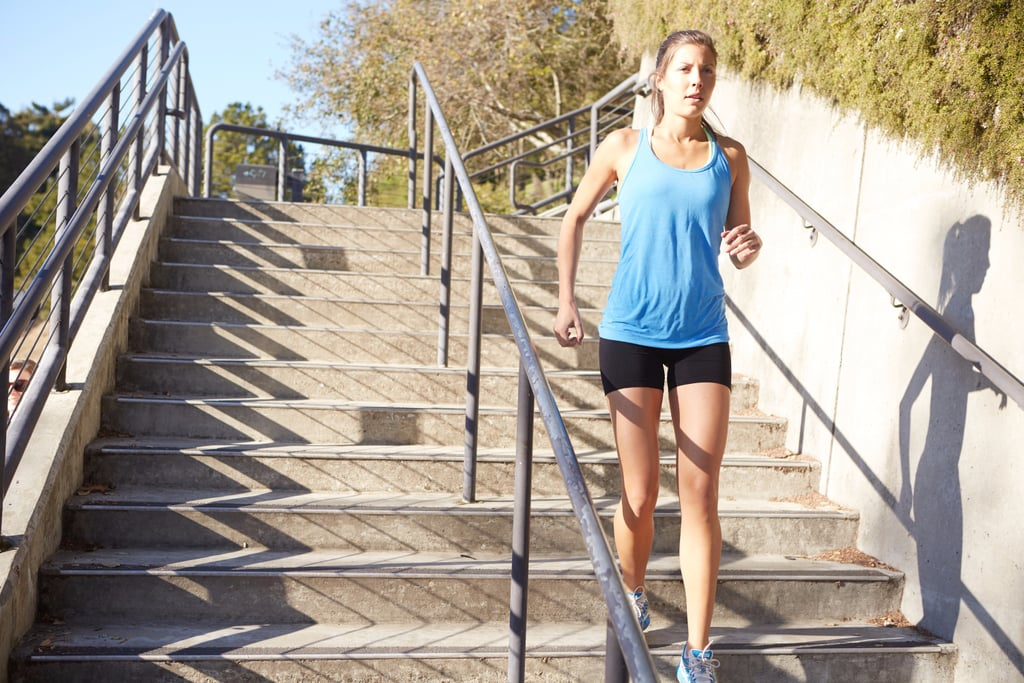 This Challenging Stair Workout Is Guaranteed to Work Your Entire Body