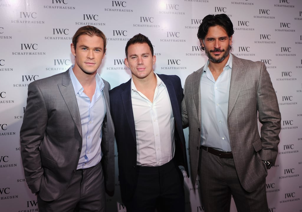 Channing Tatum, Joe Manganiello, and Chris Hemsworth hung out.