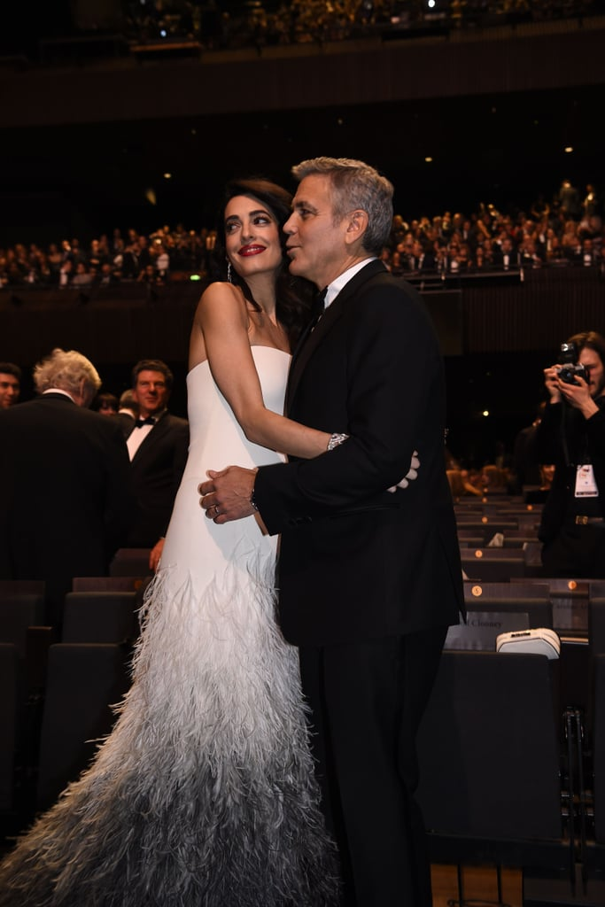 Amal Clooney's Versace Dress at the 2017 Cesar Awards
