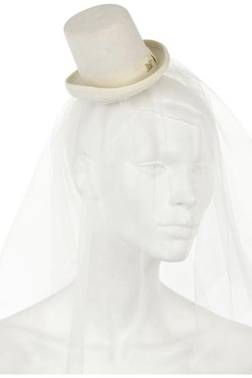 Maison MichelUffie Mini Top Hat ($645)